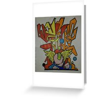 busy bomber Greeting Card