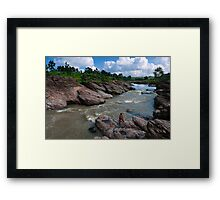 Fisherman-2/2011 Framed Print
