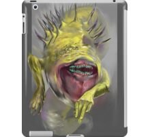 yellow worm iPad Case/Skin