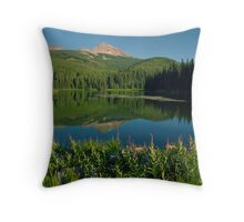 Woods Lake Throw Pillow
