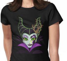 Sugar Skull Series - Dragon Queen Womens Fitted T-Shirt
