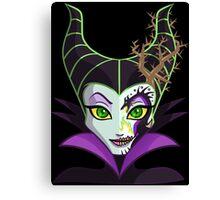Sugar Skull Series - Dragon Queen Canvas Print