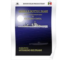 "MOVIE POSTER 8 ""Sopra e sotto i mari"" Poster"