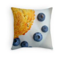 The Big Muffin Throw Pillow