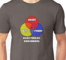 Venn Diagram - Electrical Engineers Unisex T-Shirt