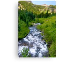 Oh-Be-Joyful River  Canvas Print