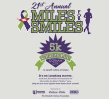 """Miles for Smiles"" Gotham City 5k Charity Run by absinthetic"