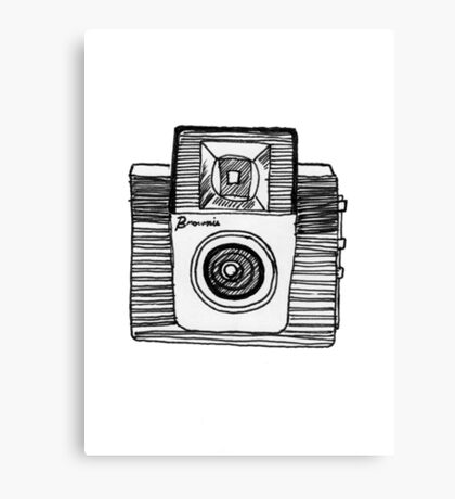 old fashioned brownie camera Canvas Print