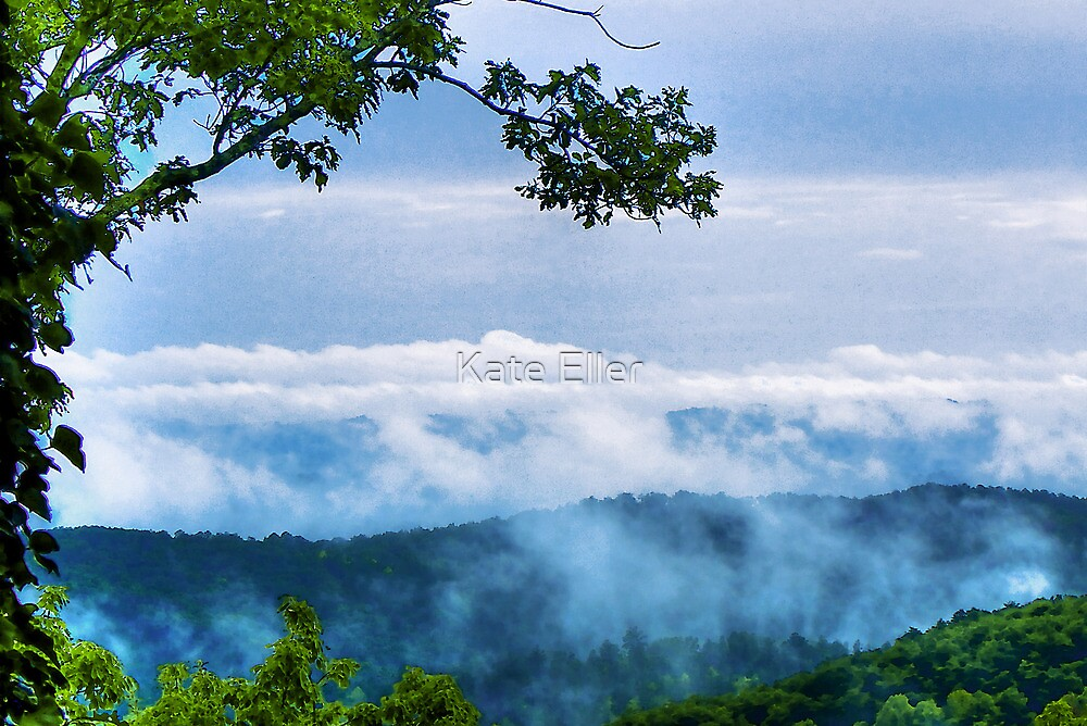 Low Clouds in the Mountains by Kate Eller
