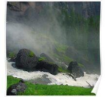 Bridal Veil Falls Mist Poster