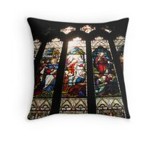 ABBEY WINDOW Throw Pillow