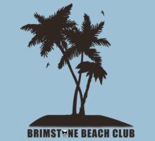 Brimstone Beach Club Kids Tee