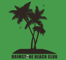 Brimstone Beach Club One Piece - Short Sleeve