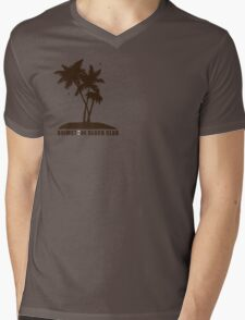 Brimstone Beach Club Mens V-Neck T-Shirt