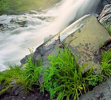Waterfall Vignette by CrowningGlory