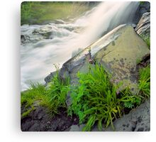 Waterfall Vignette Canvas Print