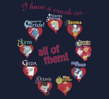 I have a crush on... all of them! - part 2 by Stinkehund