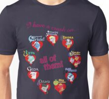 I have a crush on... all of them! - part 2 Unisex T-Shirt