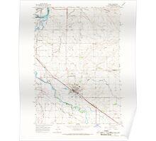 USGS Topo Map Idaho Parma 237564 1965 24000 Poster
