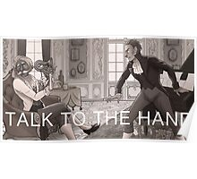 Forgetting Beethoven - Talk to the Hand Poster