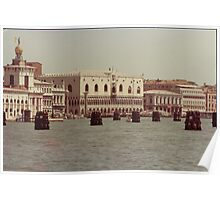 VENEZIA - PALAZZO DUCALE- ITALIA---  EUROPA-- 1500 visualizzaz.-vetrina rb explore 20 luglio 2013 - Poster