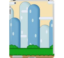 Super Mario World Vexel Background iPad Case/Skin