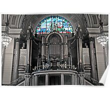Willis Organ in St.George's Hall Poster