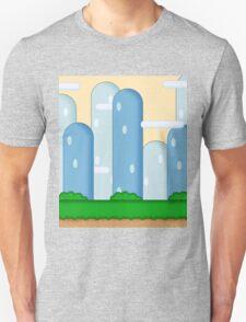 Super Mario World Vexel Background T-Shirt