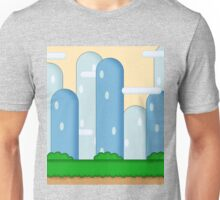 Super Mario World Vexel Background Unisex T-Shirt