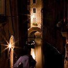 Softly Lit Canal by vividpeach