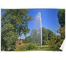 Centenary Fountain, Forde Abbey Poster