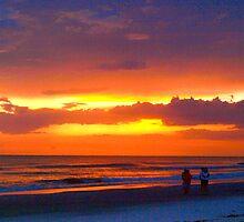 Beach romance by ♥⊱ B. Randi Bailey