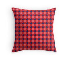 PSYCHEDELIA IN ORDER Throw Pillow