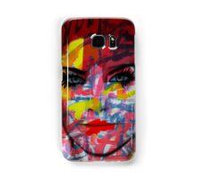 Cardboard Fashion Girl Samsung Galaxy Case/Skin