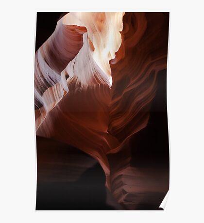 Antelope Canyon - III Poster