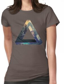 Penrose Mountains Womens Fitted T-Shirt
