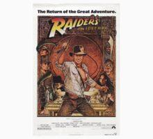 Raiders of lost ark indiana jones Kids Tee