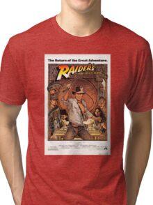 Raiders of lost ark indiana jones Tri-blend T-Shirt