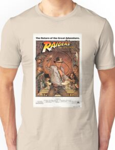 Raiders of lost ark indiana jones Unisex T-Shirt