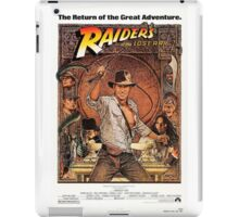 Raiders of lost ark indiana jones iPad Case/Skin