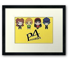 P4 girls Framed Print