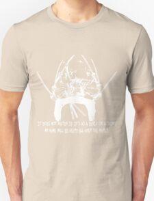 Asura Zoro Version White Unisex T-Shirt