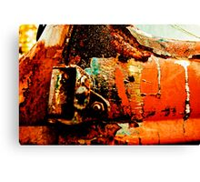 Rusty Orange Canvas Print
