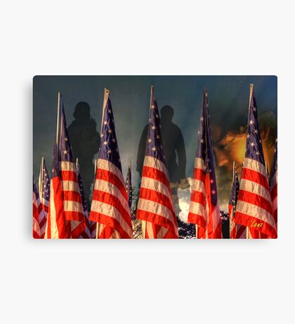 Ghosts Of War Canvas Print
