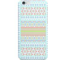 Modern Summer Ikat Pastels iPhone Case/Skin