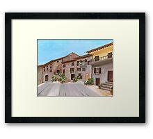 Piazza Garibaldi Framed Print