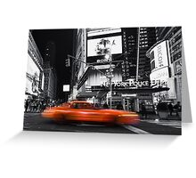 a new york minute Greeting Card