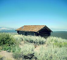 Cabin In The Hills by marilyn diaz