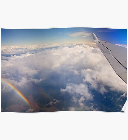 What's at the end of the Rainbow? Home. Poster