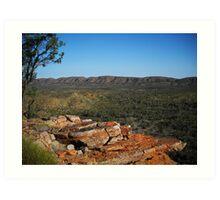 West MacDonnell National Park, Central Australia Art Print